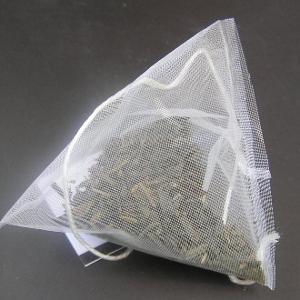 чайный пакетик из сплетенного материала