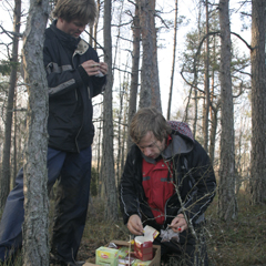 Jasper and Joost in Sweden Oct. 2011 By B.Robroek