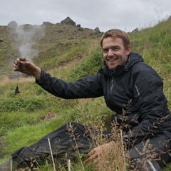 Bas in the Graendalur valley, Iceland, 2011. By B. Dingemans